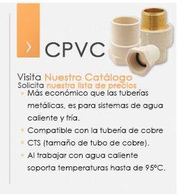 Cpvc medidas instalaci n sanitaria conexiones - Medidas de tubos de pvc ...